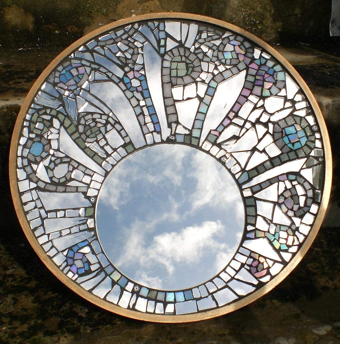 Mirror mosaic kawportfolio for Glass and mirror craft